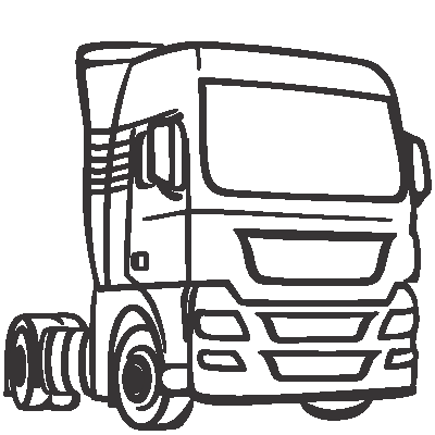 Imagem de um caminhão.